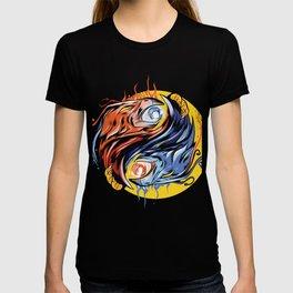 Ying Yang with Phoenix T-shirt