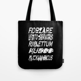 Harry Dresden's Iconic Spells Tote Bag