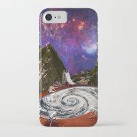 bath iPhone & iPod Cases featuring Hurricane bath by Blaz Rojs