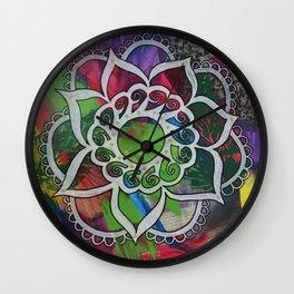 Mandala 99 Wall Clock