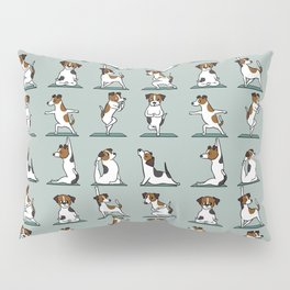 Jack Russell Terrier Yoga Pillow Sham