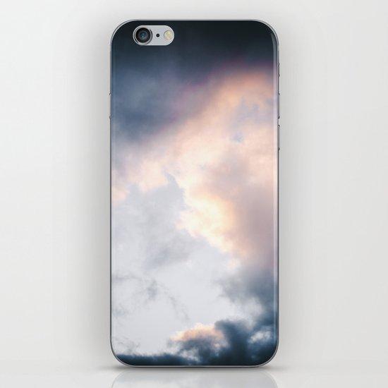 Creamy Clouds iPhone Skin