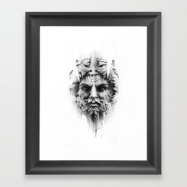 King Of Diamonds Framed Art Print