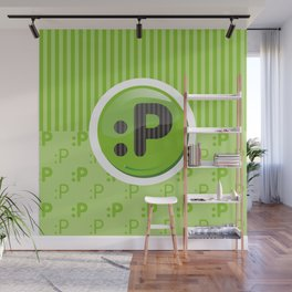 Green Writer's Mood Wall Mural
