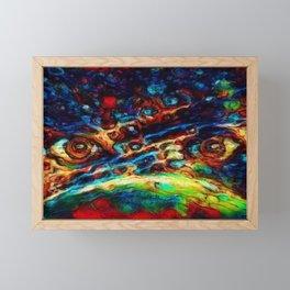Cosmic Eyes of the Watcher Framed Mini Art Print