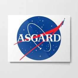 Asgard Insignia Metal Print
