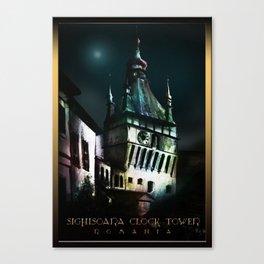 #SighisoaraClockTower Canvas Print