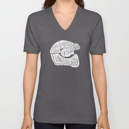 I have fought the good fight, I have finished the race.  Unisex V-Neck