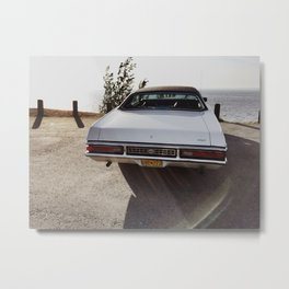 Mercury Marquis at the Beach Metal Print
