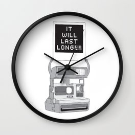 Take A Picture Wall Clock
