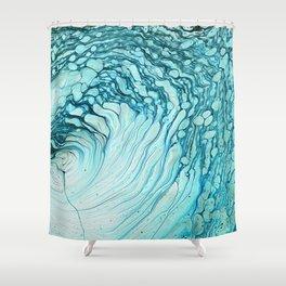 Aquatic Shower Curtain