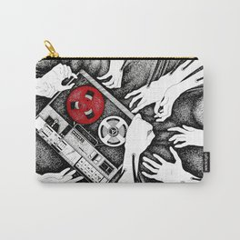 Grabbing Music Carry-All Pouch