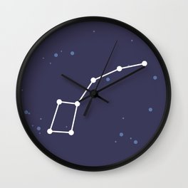 Ursa Minor Constellation Wall Clock