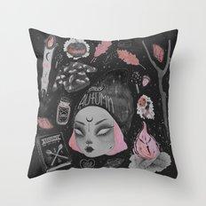 Magical ϟ Autumn Throw Pillow