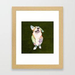 Welsh Corgi Framed Art Print