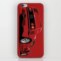 ferrari iPhone & iPod Skins featuring FERRARI F40 by MATT WARING