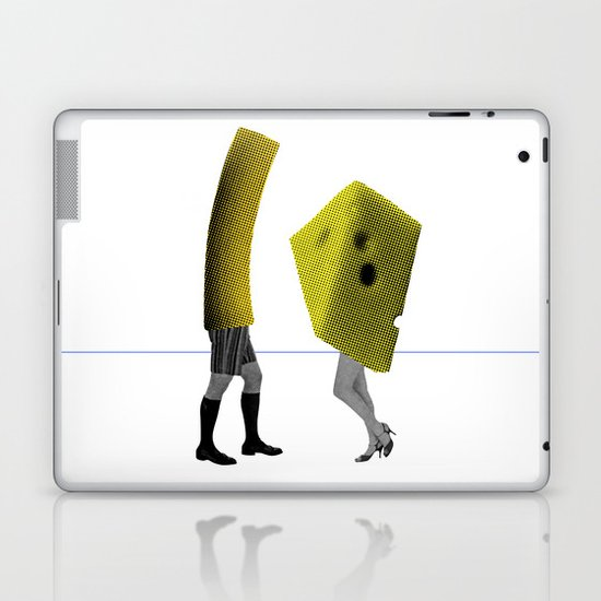 Because she's the cheese and I'm the macaroni Laptop & iPad Skin