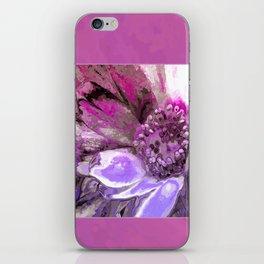 In Sunlight, Petunia Reflections iPhone Skin