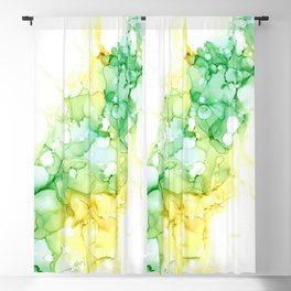 The Green Divide Blackout Curtain