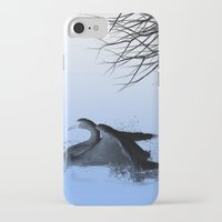 black swan iPhone & iPod Cases featuring Black swan  by Shalisa Photography
