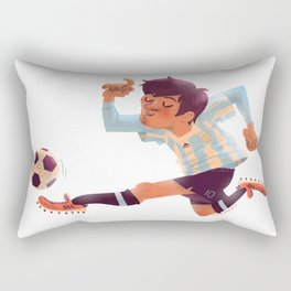 Lionel Messi, Argentina Jersey Rectangular Pillow