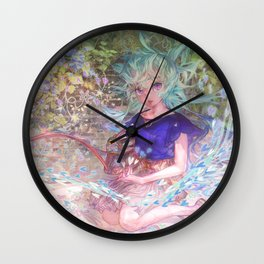 Heart Level Up: Color Your World Wall Clock