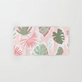 Tropical cut out pattern Hand & Bath Towel