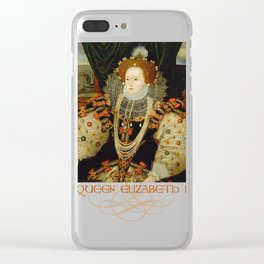 Queen Elizabeth I of England (1) Clear iPhone Case