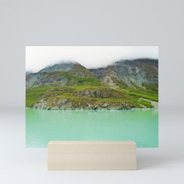 Glacier Bay Wilderness Alaska Mini Art Print