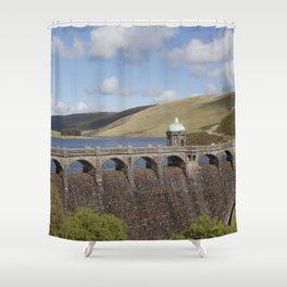 Craig Goch Dam Shower Curtain