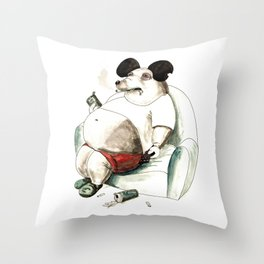 Mass Mickey Throw Pillow