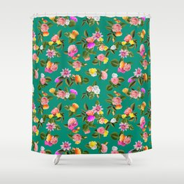 Frida Floral Shower Curtain