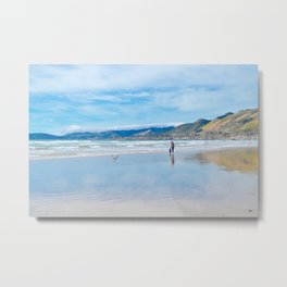 pismo reflection Metal Print
