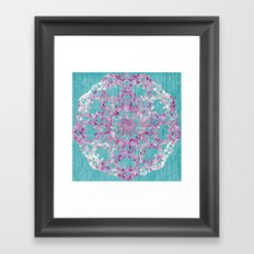 Reinventing A Taste of Lilac Wine Framed Art Print