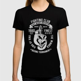 fighting club heavy weight unification T-shirt