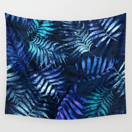 Reeya Tropical Blue Wall Tapestry