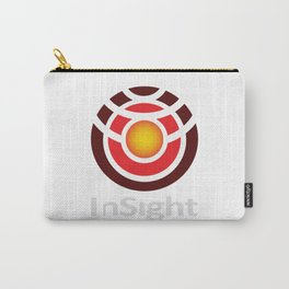 InSight NASA Logo for Dark Colors Carry-All Pouch