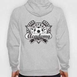 Football emblem 'Academy New York' Hoody