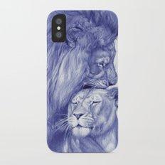 Lions iPhone X Slim Case