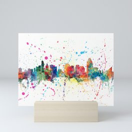 Cincinnati Ohio Skyline Mini Art Print