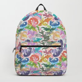 Rainbow Dragons Backpack