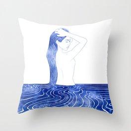 Nereid VII Throw Pillow