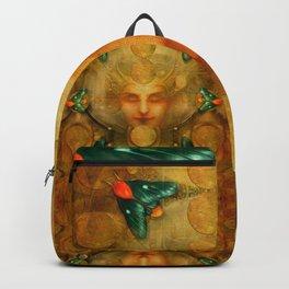 """""""Art Deco II The Chimera (Moth)"""" Backpack"""