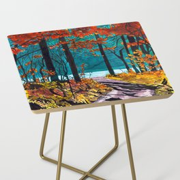 Autumn Path Side Table