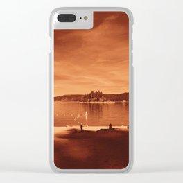 strange, strange Clear iPhone Case