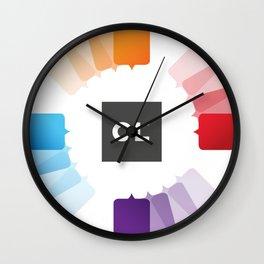 OL - Solutions Wall Clock