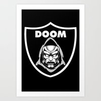 doom Art Prints featuring Doom by Buby87