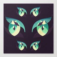 Demons's eyes Canvas Print