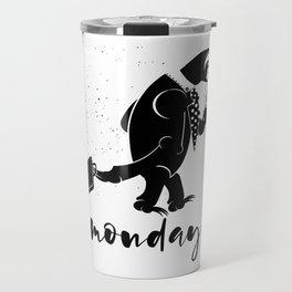 Sloth Monday's Travel Mug