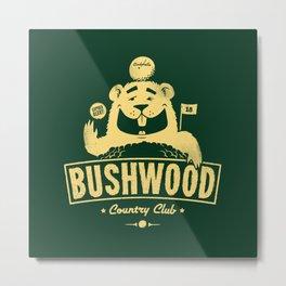 Bushwood (Light) Metal Print